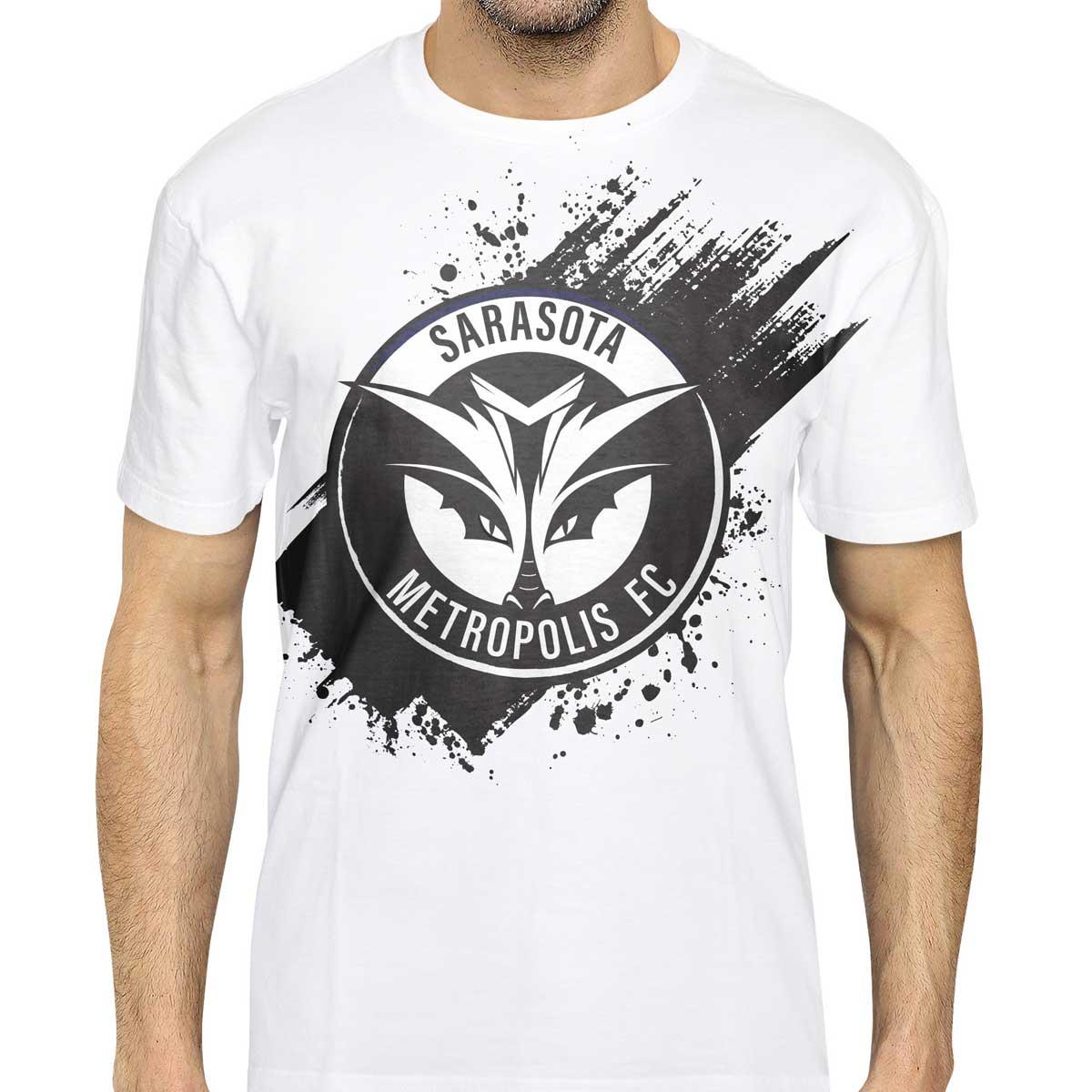 Sarasota Metropolis T-shirt Design