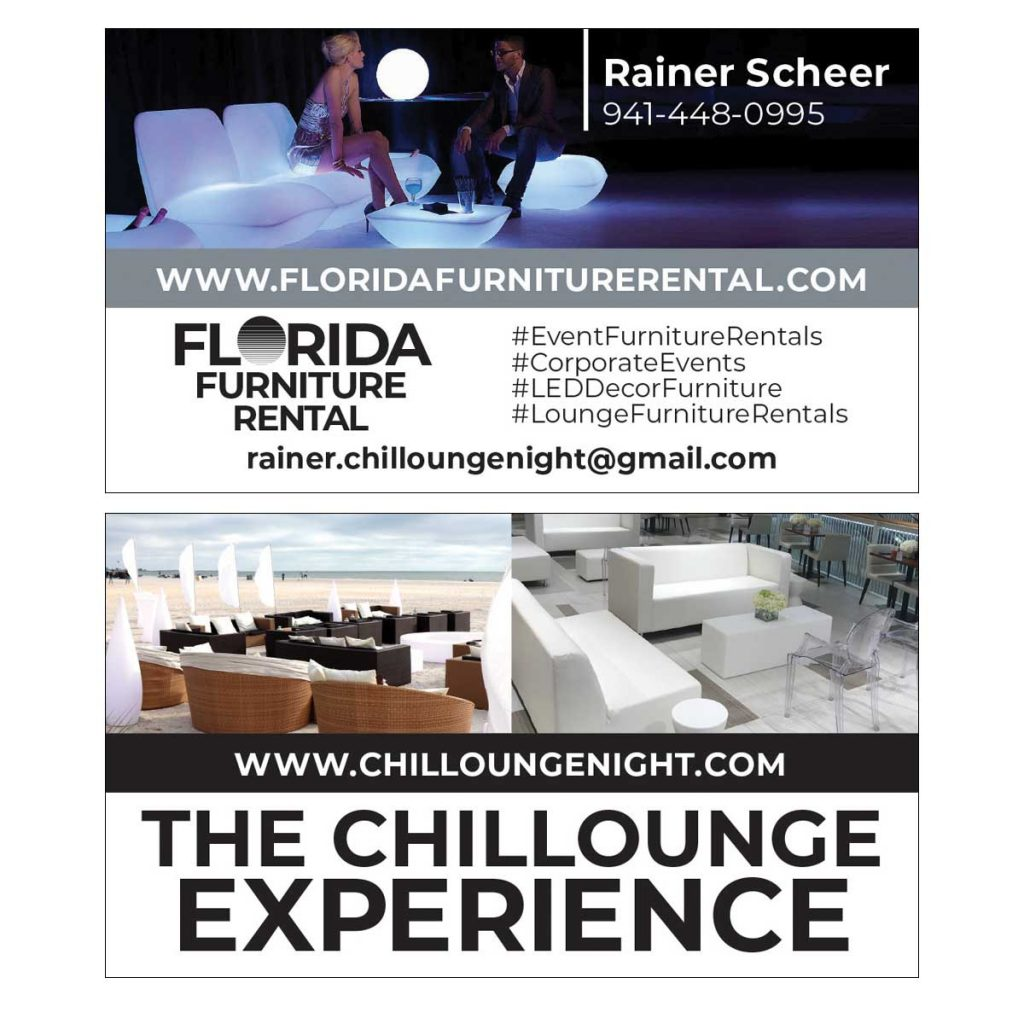 Chillounge Experience Business Card Design