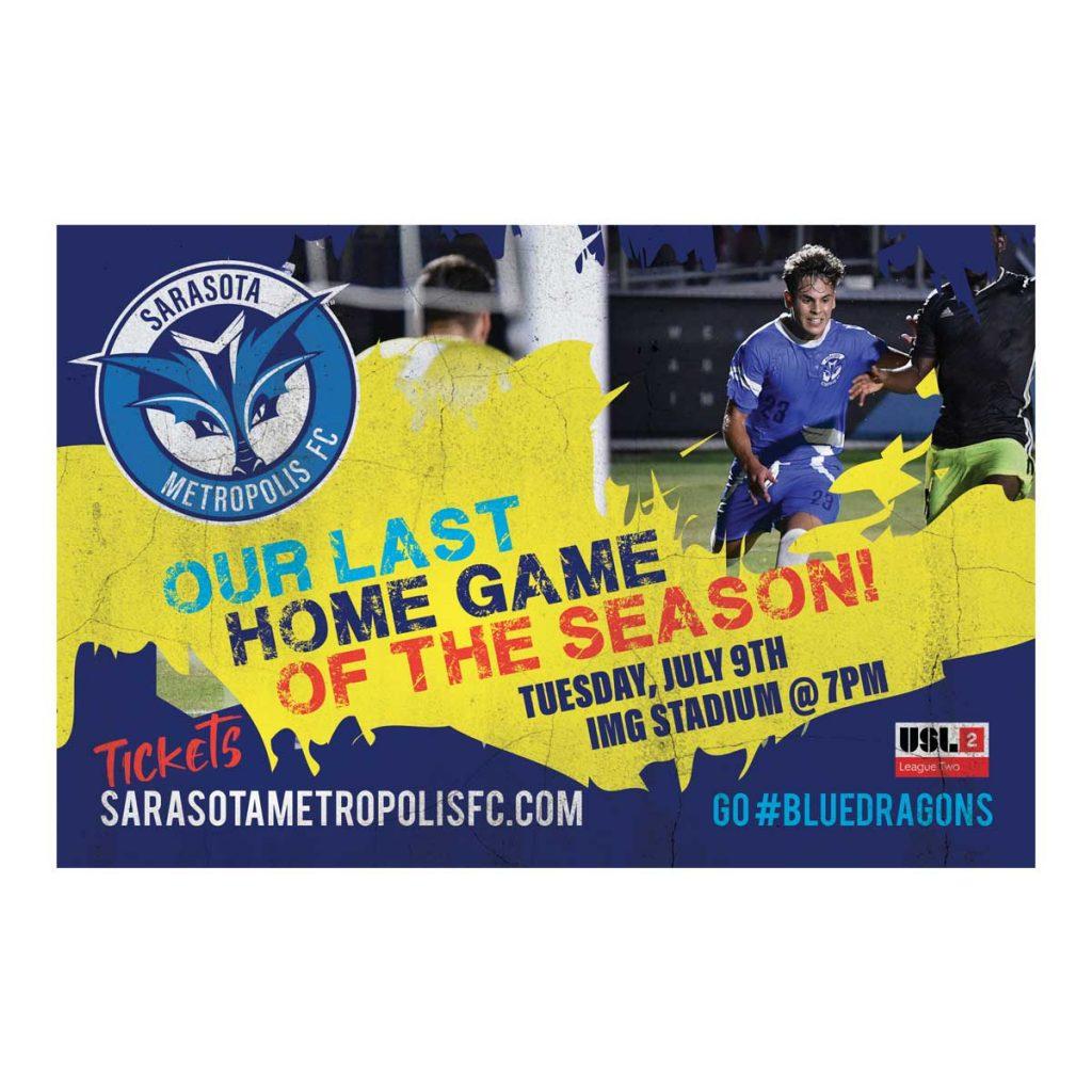 Logo Design and Postcard for Sarasota Metropolis