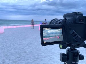 Mother's Day video shoot at Anna Maria Island