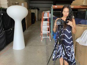 Florida Furniture Rental Warehouse Video Shoot