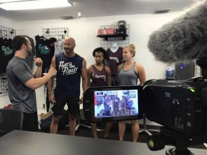 Fitness Studio Video Production Shoot
